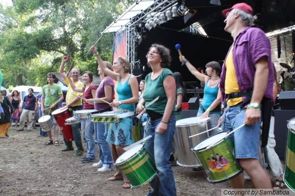 Sambatida beim Worldmusic Festival