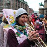 Bremer Karneval 2014 Brass und Trommeln