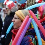 Sambatida beim Bremer Karneval